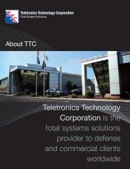 About Teletronics Technology Corporation