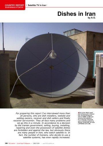 Dishes in Iran - TELE-satellite International Magazine