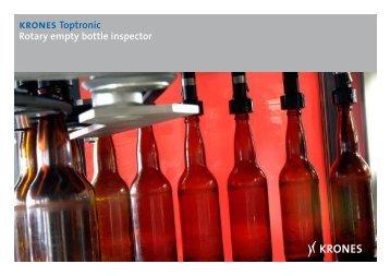 krones Toptronic Rotary empty bottle inspector - Krones AG
