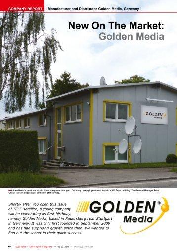 Golden Media - TELE-satellite International Magazine