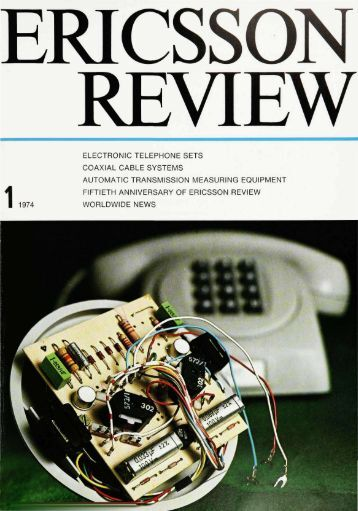 electronic telephone sets coaxial cable systems - The history of ...