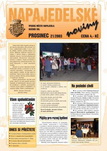 PF 2004 - Napajedla
