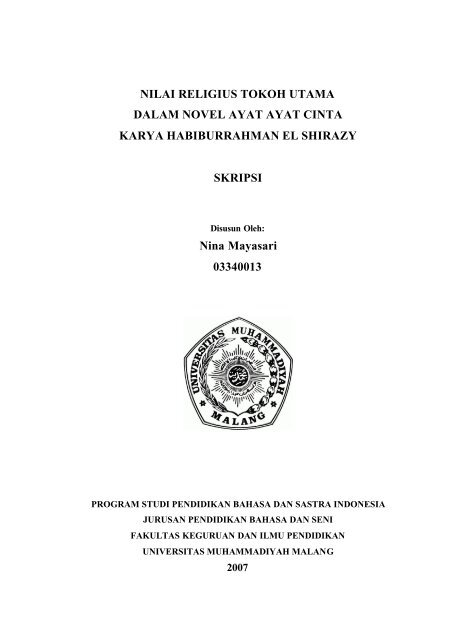 Novel Indonesia Pdf File