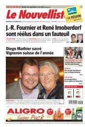 NFJ3_Mercredi_26_octobre : Le Nouvelliste : 1 : page 01 - Mathier