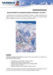 Communiqué de presse (PDF - 1,23 Mo) - Verbier