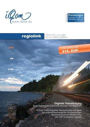 EUR regiolink