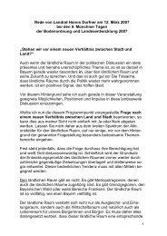 Rede von Landrat Hanns Dorfner - Landkreis Passau
