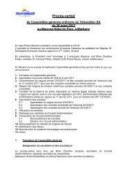 PV assemblée générale du 30 mars 2012 (PDF - Verbier