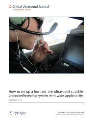 How to set up a low cost tele-ultrasound capable videoconferencing ...