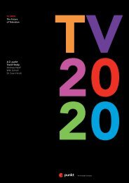 TV 2020 The Future of Television A Z_punkt Trend Study Andreas ...