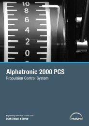 Alphatronic 2000 PCS - MAN Diesel & Turbo