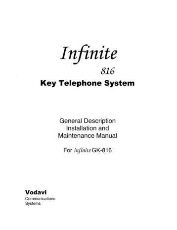 Vodavi Infinite GK 816 installation.pdf - TextFiles.com