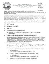 Meeting Agenda for November 13, 2012 - Vallejo Sanitation & Flood ...