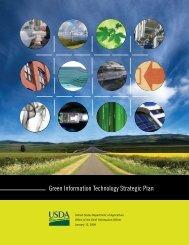 Green Information Technology Strategic Plan - Departmental ...