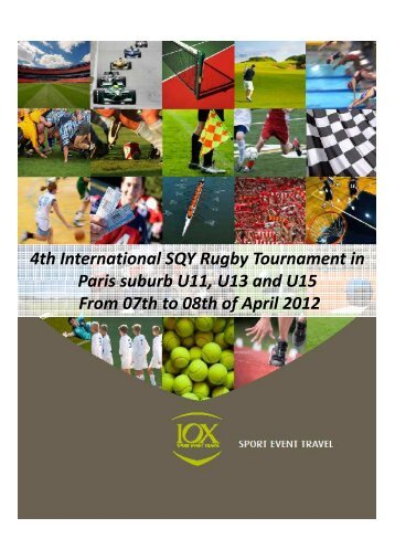 4th international Rugby Tournament - IOX Tour