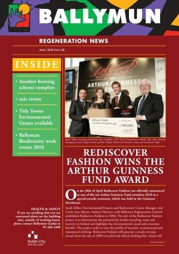 inside rediscover fashion wins the arthur guinness fund award
