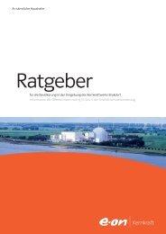 Ratgeber - E.ON Kernkraft GmbH