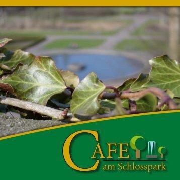 speise- und getränkekarte - Cafe am Schlosspark