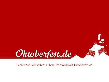 Mediadaten, Rubrik-Branding-Preisliste und ... - Oktoberfest.de