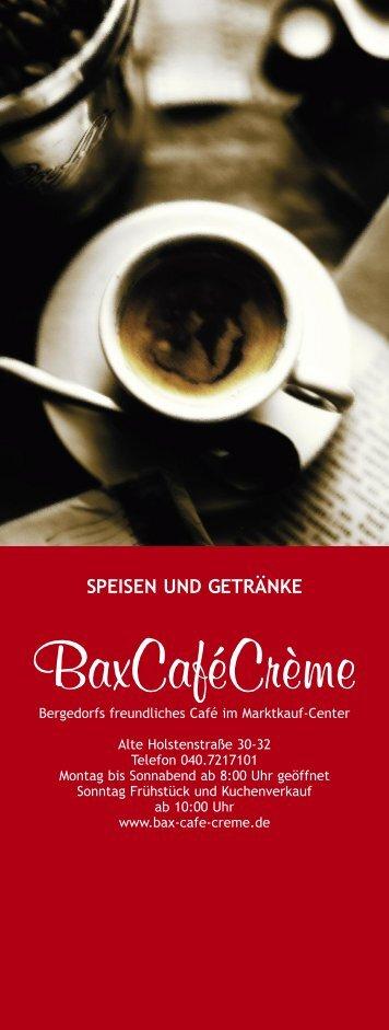 speise- und getränkekarte - bax-cafe-creme.de