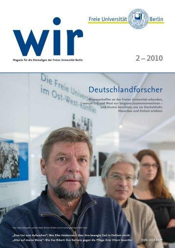 Ausgabe 2-2010 - Freie Universität Berlin