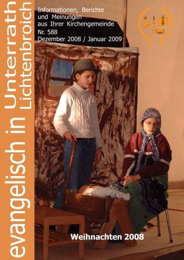 evangelisch in - Evangelische Kirchengemeinde Unterrath ...