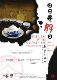 Teefest im Fo Guang Shan Tempel in Berlin denn