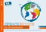 EXPRESS GLOBAL – Sprachreisen für Erwachsene 2013 als Pdf