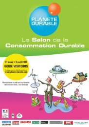 Guide visiteurs - Planète durable