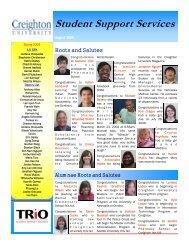 2009 August Newsletter.pub - Creighton University
