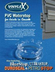 for Joints in Concrete - Vinylex Waterstop & Accessories