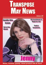 MAY NEWS TRANSPOSE