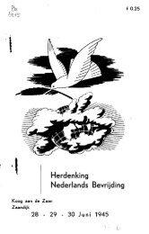 Herdenking Nederlands Bevrijding
