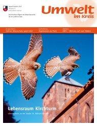 Lebensraum Kirchturm - Umwelt im Kreis - Landkreis Stade
