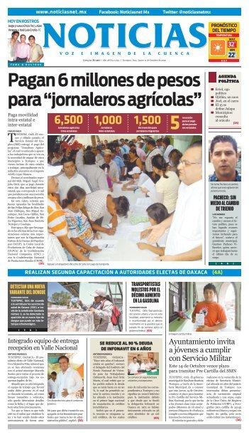 hoy en rostros - Noticias Voz e Imagen de Oaxaca