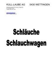 Schlauchwagen ALBA+Krapf - Kull-Laube AG