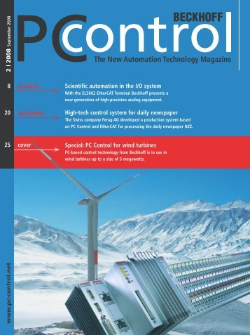 PC Control 2|2008 - PC-Control The New Automation Technology ...