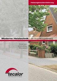 Heizungsmodernisierung - ITB Immobilien
