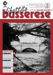 Aprile 2007 - Comune di Bussero