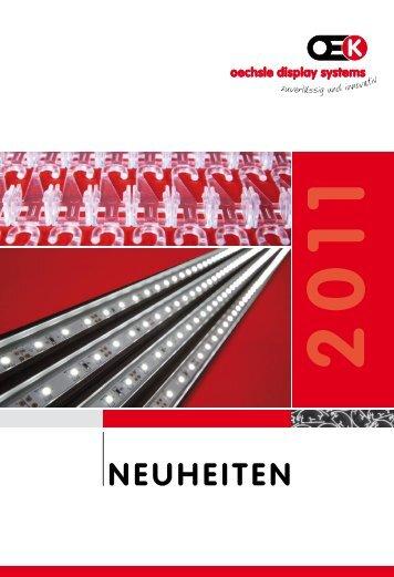 NeuheiteN - Oechsle Display Systeme GmbH