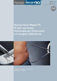 Human Tecar Physio TT. Si apre una nuova ... - ALPHAMED