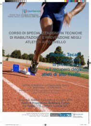 Human Tecar® nella cura, la prevenzione e il ... - Elettro center