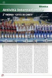 """2° trofeo """"città di chieti"""" - Federazione Ginnastica d'Italia"""