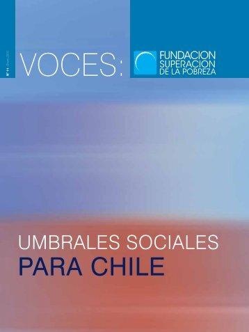REVISTA VOCES_DEF.pdf - Fundación Superación de la Pobreza