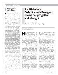 La Biblioteca Sala Borsa di Bologna: storia del ... - Biblioteche Oggi