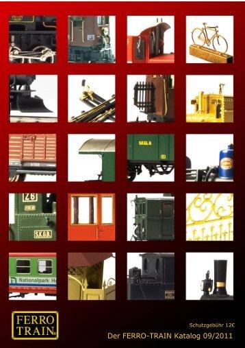 Der FERRO-TRAIN Katalog - 20110920