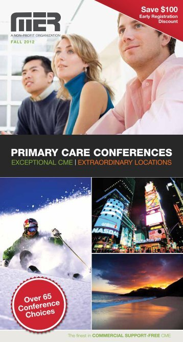 PRIMARY CARE CONFERENCES - Medical Education Resources