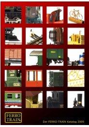 Der FERRO-TRAIN Katalog 2009