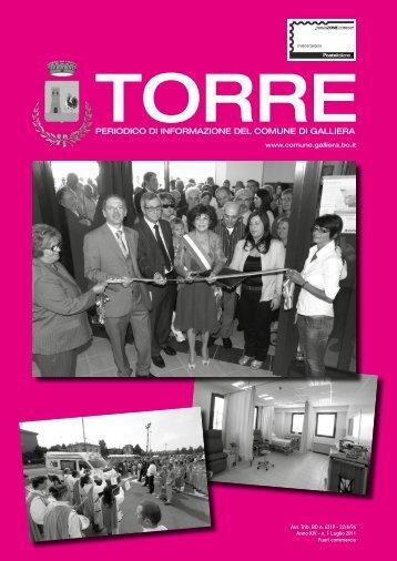 Torre - mese di luglio 2011 - Comune di Galliera