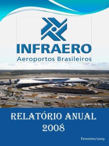 Relatório da Administração 2008 - Infraero